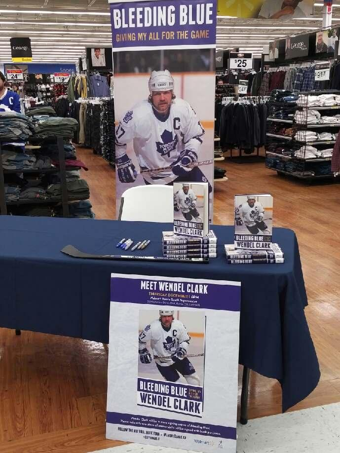 Book Tour -Walmart Barrie
