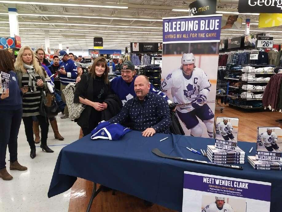 Book tour - walmart barrie 2