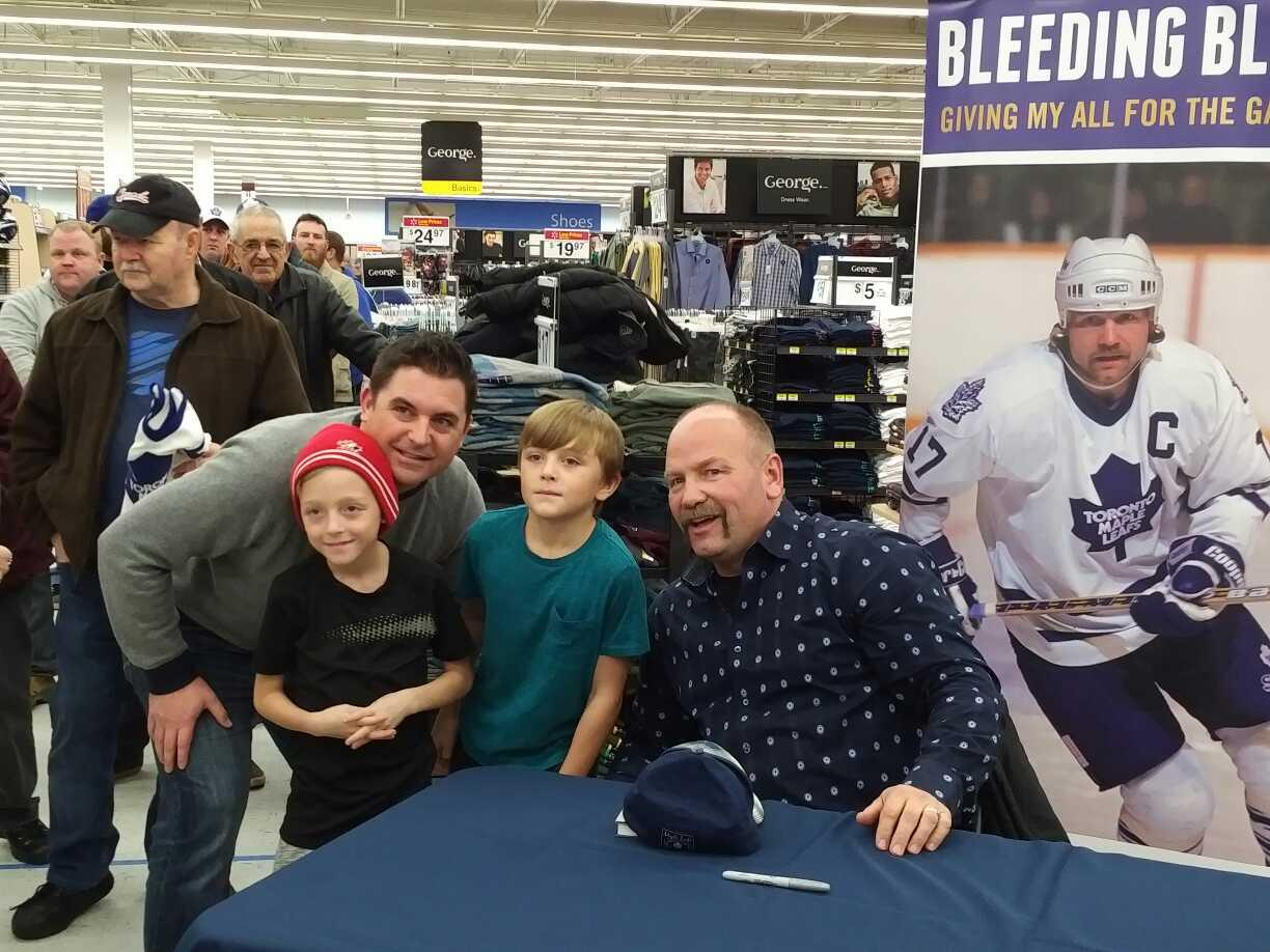 book tour - walmart barrie 3