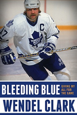 Wendel Clark Of Toronto Maple Leafs